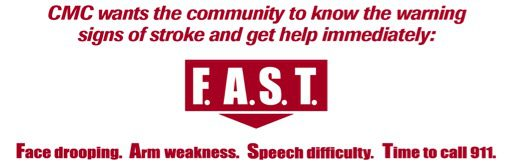 f.a.s.t. stroke symptoms logo